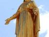 Мадонна на куполе часовни нотр-дам де Фурвьер