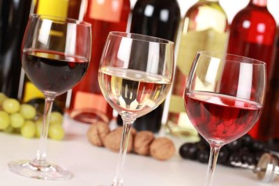 французские вина и напитки